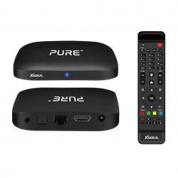 Xsarius PURE 4K OTT 4K UHD IPTV Android 7.1 Player H.265 HEVC Wlan