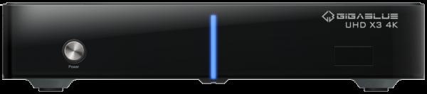 GigaBlue HD X3 4K 2x DVB-S2X FBC Tuner E2 Linux UHD Receiver