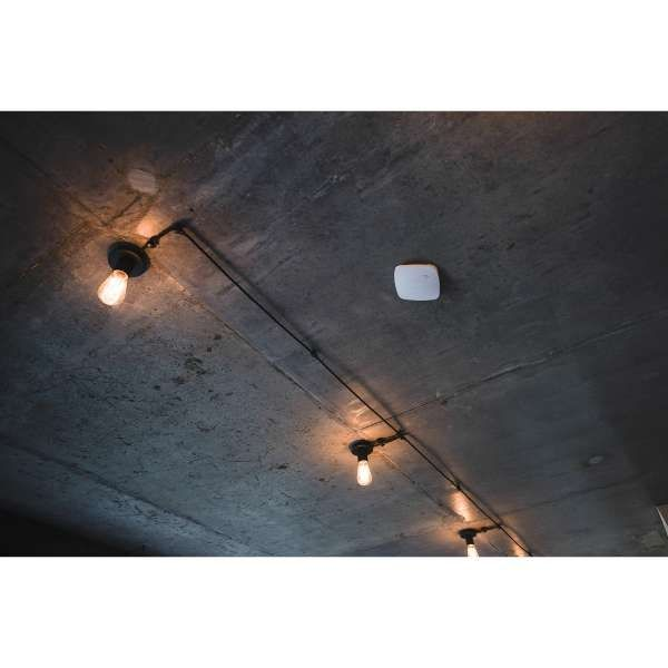 AJAX Funk Rauch- & Brandmelder mit Temperatur- & CO Sensor FireProtect Plus Weiss