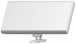 Selfsat H21D+ Flachantenne mit austauschbaren Single LNB
