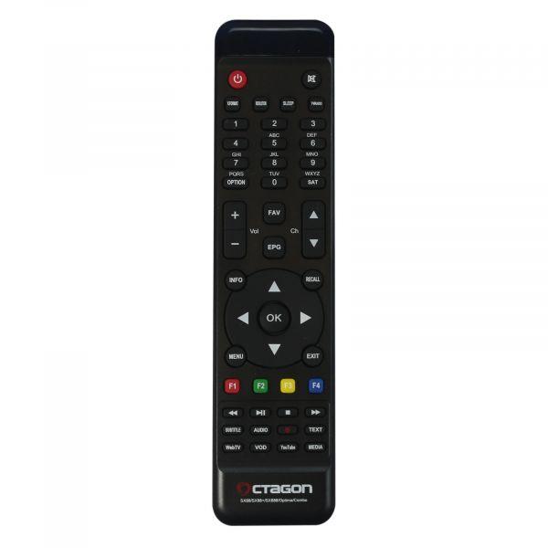 Octagon SX88+ Optima Combo HEVC Full HD Stalker IPTV Multistream DVB-S2/C/T2 Receiver