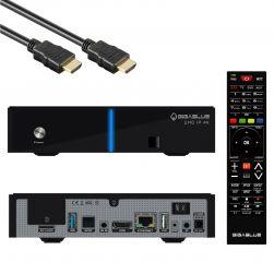 GigaBlue UHD IP 4K USB HDMI SD Karte Multiroom Ultra HD IP Box Receiver Schwarz ohne Tuner
