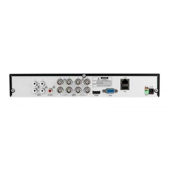 BALTER BHR-2108C 8Kanal Hybrid HD-TVI/AHD/CVI IP Videorekorder, H.264, 4MP, Audio, P2P, HDMI 4K