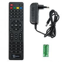Vorschau: Telesystem TS3011HD FTA Full HD DVB-S2 Sat Receiver USB Schwarz