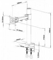 Vorschau: DMP LCD 481 S -schwarz-