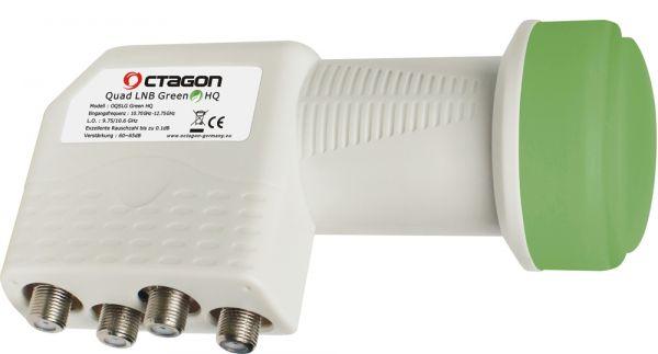 Octagon Quad Green PLL HQ OQSLG LNB 0.1dB