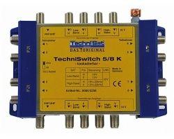 Technisat TechniSwitch 5/8 K Multischalter Kaskade