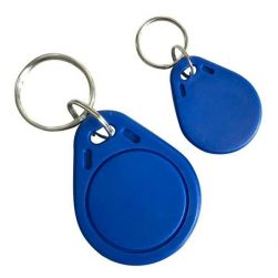 RFID Token Schlüsselanhänger 125KHz EN4100 Blau für Balter ERA & Evida Türsprechanlagen