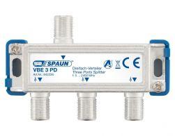 Spaun VBE 3 PD 3-fach Verteiler BK-tauglich