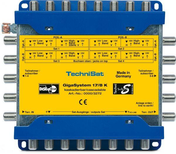 Technisat GigaSystem 17/8 K Multischalter Kaskade