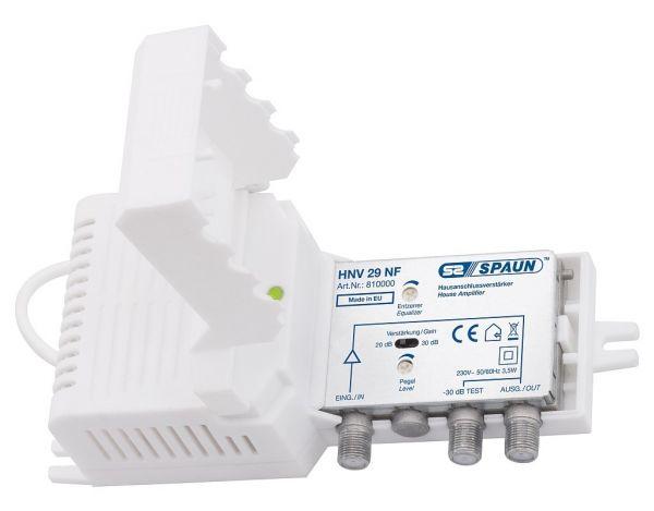 Spaun HNV 29 NF Hausanschluss-/Kabel-TV-Verstärker 20/30 dB