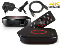Preview: MAG 425A Android TV 8.0 4K HEVC 5G WIFI Bluetooth Sprachfernbedienung Chromecast IPTV Player