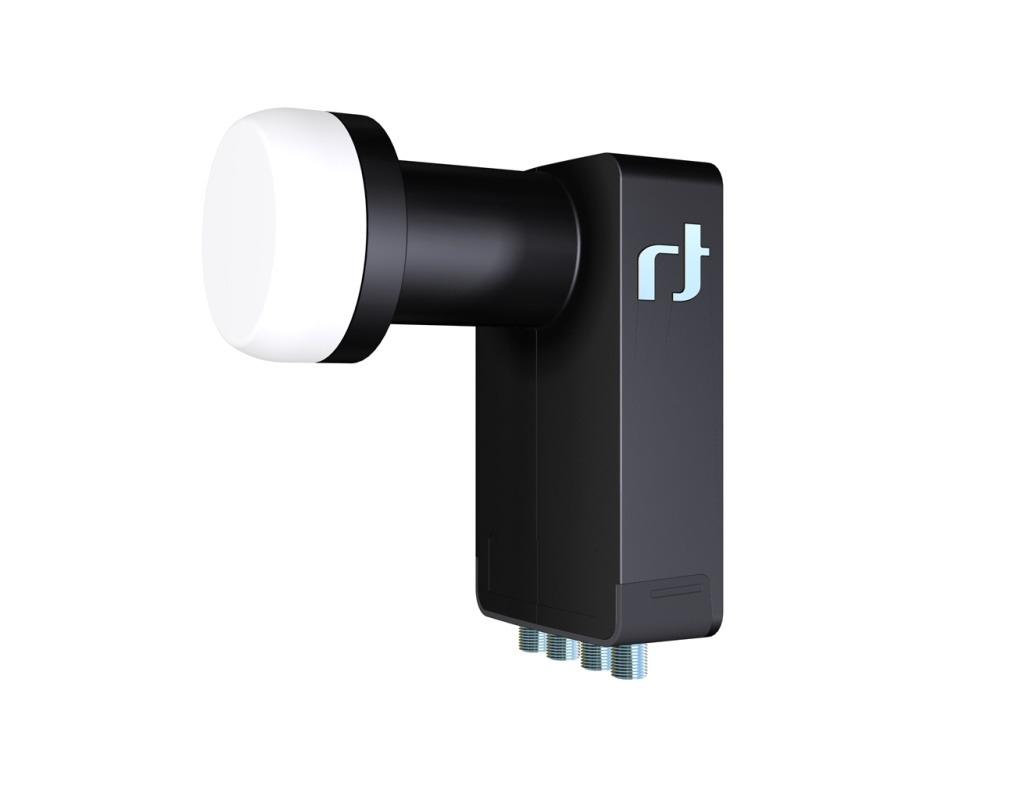 Inverto Quad Black Ultra IDLB-QUDL40 0,2 dB