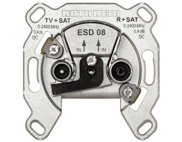 Kathrein ESD 08 SAT-Twin-Enddose 0,4dB