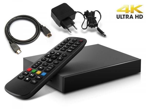 MAG 520w3 IP TV Internet Streamer HEVC H.265 WIFI 4K UHD 60FPS Linux USB 3.0 LAN HDMI