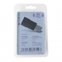 Preview: VU+® Wireless USB Adapter 300 Mbps incl. WPS Setup