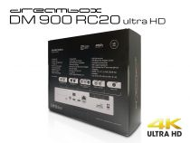 Vorschau: Dreambox DM900 RC20 UHD 4K 1x Dual DVB-S2X MS Tuner E2 Linux PVR ready Receiver