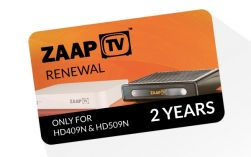 ZaapTV -Arabic- 2 Jahres Verlängerung für HD409N, HD509N, HD609N usw.