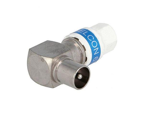 Cabelcon 90-IECF-56 5.1 Self Install Koax-Winkel-Stecker
