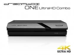 Dreambox One Combo Ultra HD 1x DVB-S2X MIS 1xDVB-C/T2 Tuner 4K 2160p E2 Linux Dual Wifi H.265 HEVC