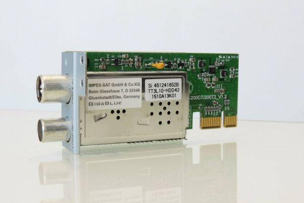 GigaBlue DVB-C/T Dual Hydrid Tuner für Ultra UE & X3