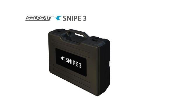 Selfsat Snipe 3 R Single mit Fernbedienung GPS Vollautomatische Antenne Skew Sat System