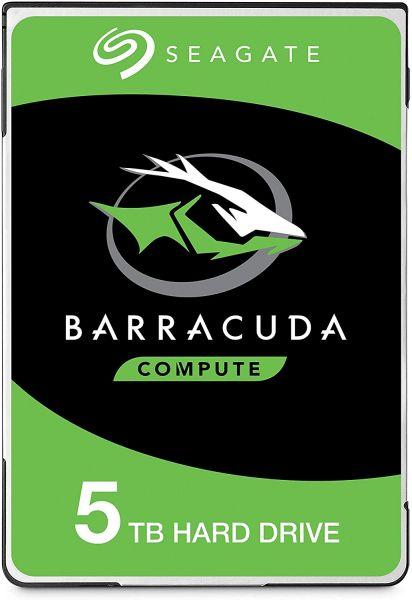 Seagate BarraCuda HDD ST5000LM000 - 5 TB 5400 rpm 128 MB 2,5 Zoll SATA 6 Gbit/s