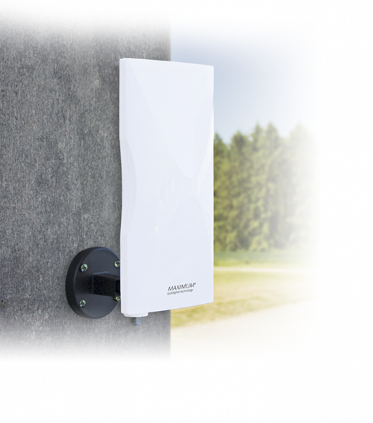 Maximum DA-6100 DVB-T Außenantenne aktiv, LTE Filter