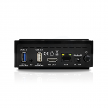 Vorschau: Xsarius AIMAX OTT BT 4K UHD LCD AndroidTV 8.0 Player H.265 WLAN Schwarz