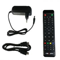 Preview: Maxytec Multibox SE WIFI 4K UHD 1x DVB-S2 & 1x DVB-C/T2 Linux + Android Combo Receiver