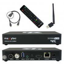 Preview: Maxytec Multibox 4K UHD 2160p E2 Linux + Android DVB-S2 Sat & DVB-T2/C Combo Wifi Receiver