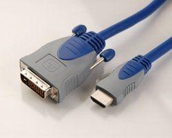 Multiline HDMI 1,5 m auf DVI-D Stecker 19 Pin,