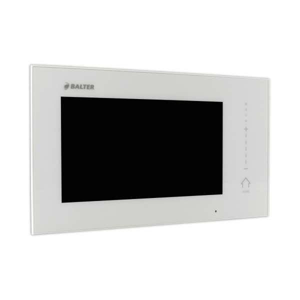 BALTER ERA Schwarz RFID 2-Draht BUS IP 7 WiFi Video Türstation iOS Android App für 1 Familienhaus