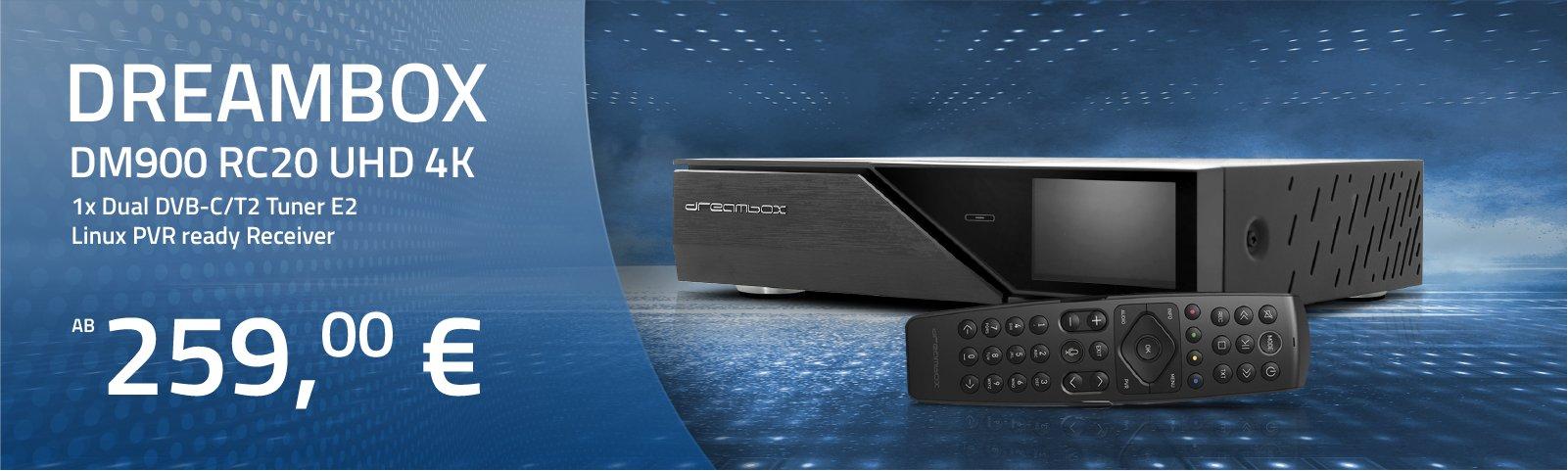 https://www.hm-sat-shop.de/dreambox/dm900-uhd/2063/dreambox-dm900-rc20-uhd-4k-1x-dual-dvb-s2x-ms-tuner-e2-linux-pvr-ready-receiver?c=19