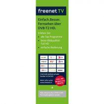 Preview: Skymaster DTR 5000 FullHD HEVC DVBT/T2 Receiver H.265, HDTV, HDMI, Irdeto Zugangssystem, freenet TV