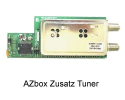 AZbox Elite und Premium DVB-T Tuner