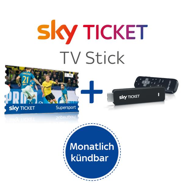 Sky Ticket TV Stick inkl. 1 Monat Live Sport