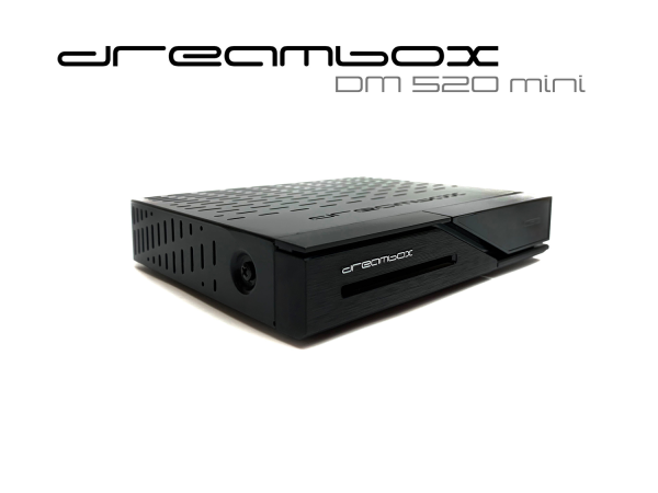 Dreambox DM520 mini HD 1x DVB-S2 Tuner PVR ready Full HD 1080p H.265 Linux Receiver