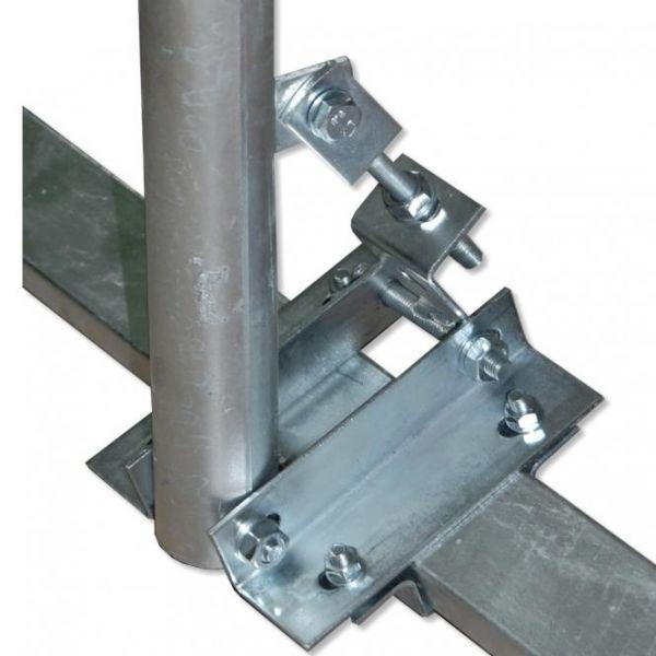 Dachsparrenmasthalter auf 2 Sparren DSH B 85-90