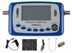 Venton Satellitenfinder Dishpointer DIGI-PRO PLUS, Premium-LCD Finder