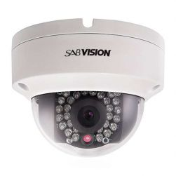 Sabvision 2200 Fixed Dome 2.5K QHD 4MP 2688 x 1520 Pixel 2.8mm Fixed WDR PoE IP67 IP-Kamera