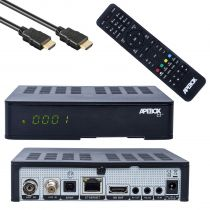 Vorschau: Apebox C2 4K UHD H.265 LAN DVB-S2X DVB-C/T2 Multistream Combo Receiver