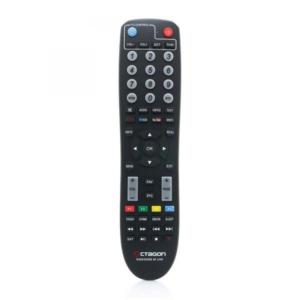 OCTAGON SX89 WL Full HD H.265 Linux WiFi LAN HDMI DVB-S2 Tuner Sat IP Receiver Schwarz