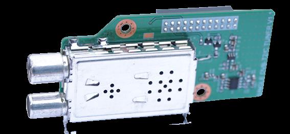 Gigablue DVB-C/T2 Single (H. 265) Tuner für GigaBlue Quad UHD 4K, UE UHD 4K, X2 HD