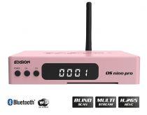 Preview: Edision OS nino pro DVB-S2X + DVB-T2/C Full HD Receiver rose gold