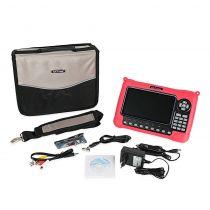 Vorschau: Satlink WS-6980 Digital DVB-S/S2 DVB-T2 /C H.265 TV Satfinder Messgerät Combo Spektrum