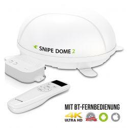 Selfsat SNIPE Dome 2 - Twin - Mit BT Fernbedienung und iOS / Android Steuerung