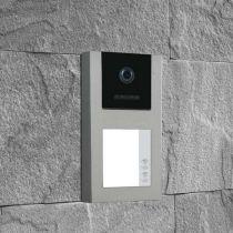 Preview: BALTER EVO-AP Silber RFID 2-Draht BUS Türstation für 2 Teilnehmer 120° Weitwinkelkamera