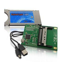 AlphaCrypt Light CI Modul Version R2.2 + HMP USB-CI Programmer f. Alphacrypt Module ( Bundle )