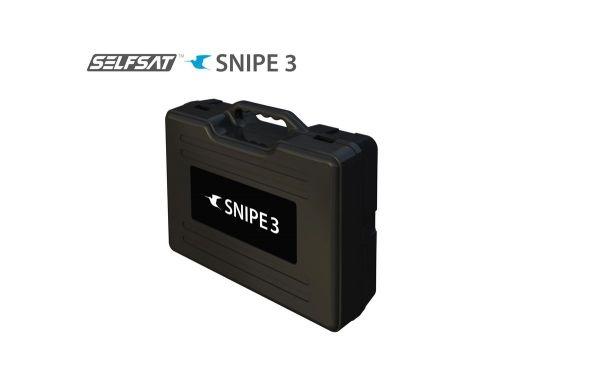 Selfsat SNIPE V3 FLY 200-Bundle - White Line - Single - Vollautomatische Satelliten Antenne